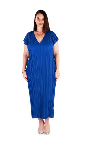 Dress 'Cocoon' Blue Pearl