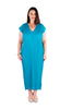 Dress Long  - Tropic Island Blue