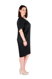 Dress 'Cocoon' Black Midnight