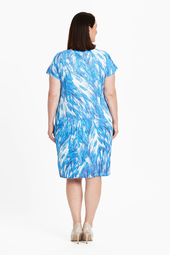 DRESS CLASSIC  -   BLUE FEATHERS