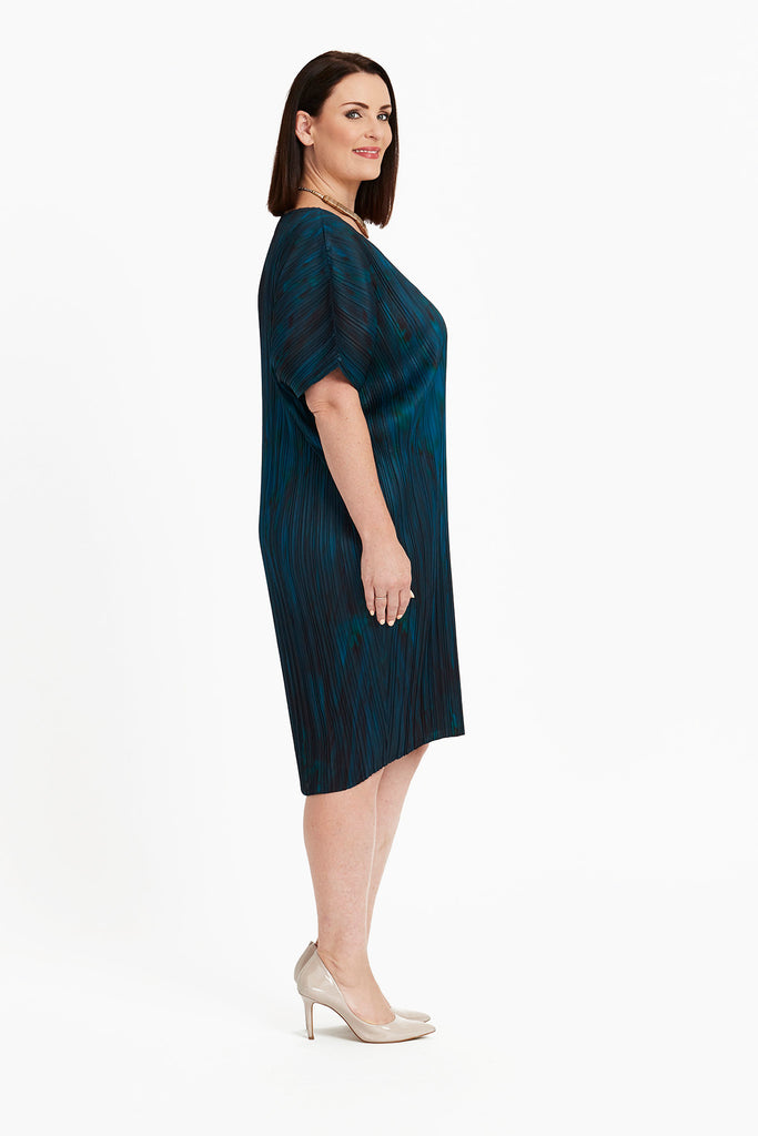 DRESS COCOON  -   EVENING TEAL