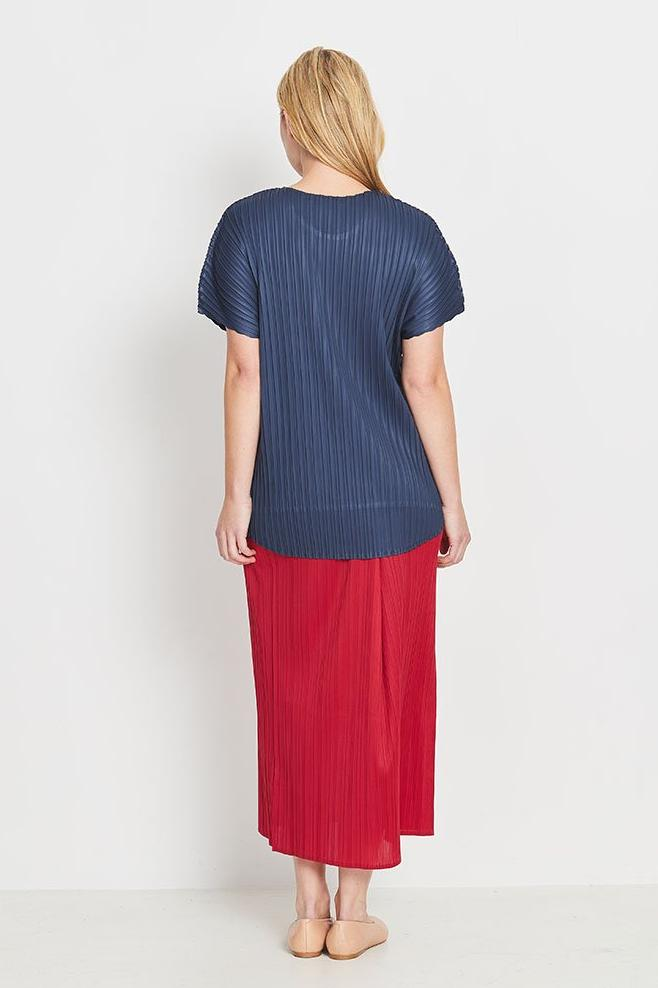 Lyrebird Skirt Long - Rouge