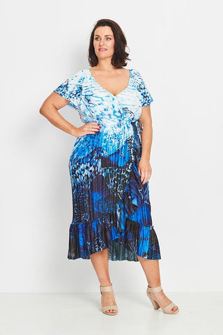 SKIRT A-LINE  -   EVENING TEAL