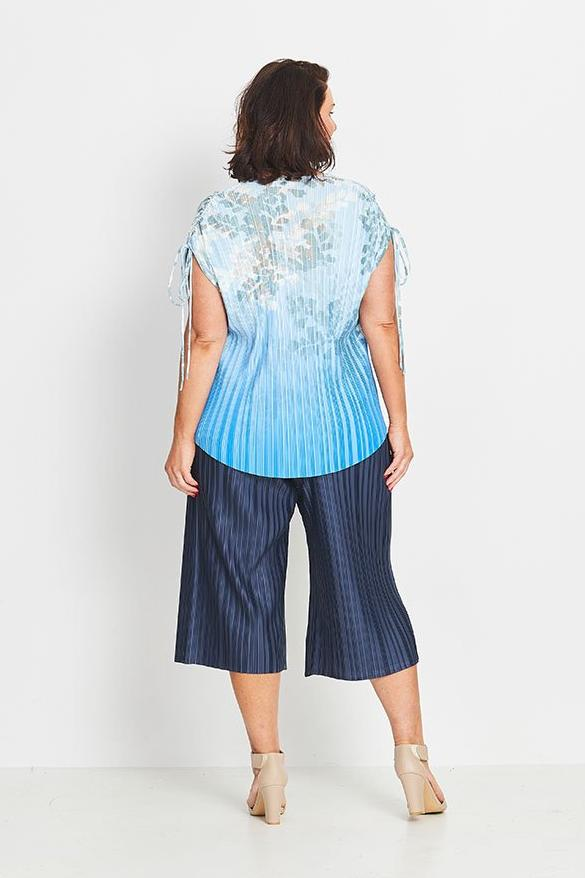 TOP DRAWSTRING SHOULDER   -   FOREST FERN