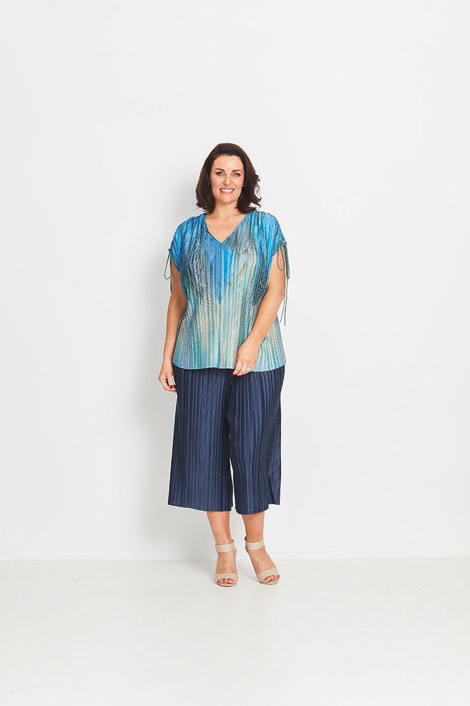 TOP DRAWSTRING SHOULDER   -   MORNING PLUME