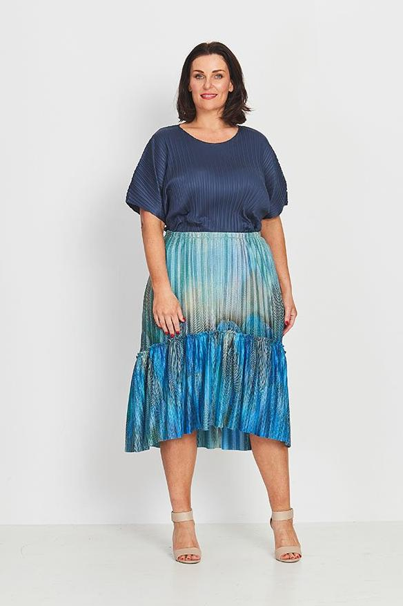 SKIRT BOHO PEASANT  -   MORNING PLUME