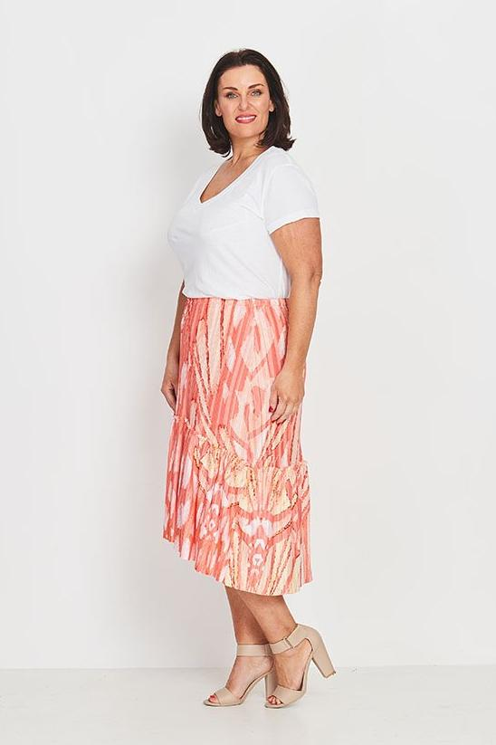 SKIRT BOHO PEASANT  -   DECO BUTTERFLY