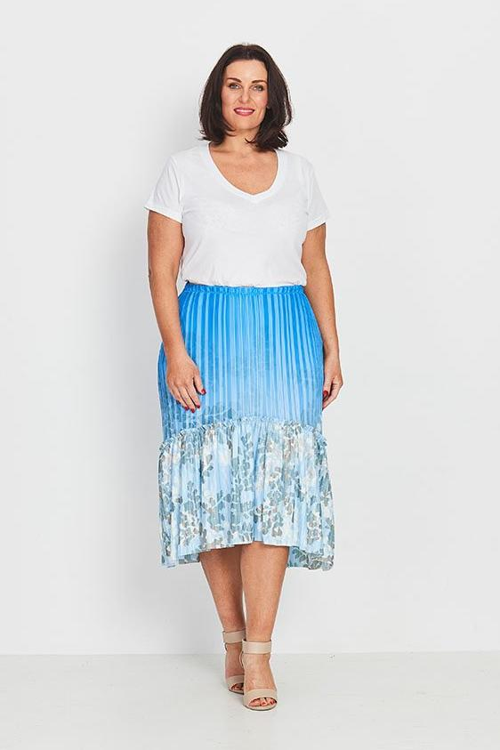 SKIRT BOHO PEASANT  -  FOREST FERNS