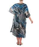Xmas Gift - Midnight Sands Kaftan and Scarf