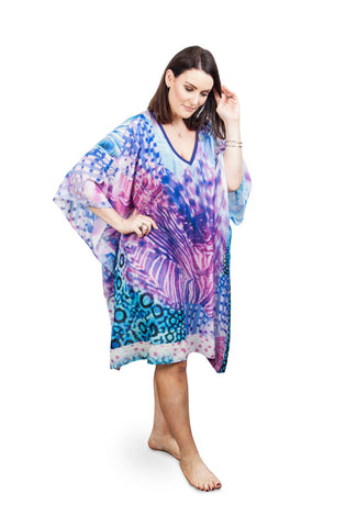 NEW SEASON Kaftan  Bird of Paradise