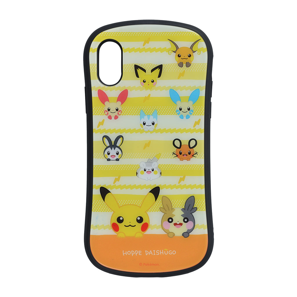 iPhone X / XS Case Cover Hybrid glass HOPPE DAISHUGO Pokemon Center Japan