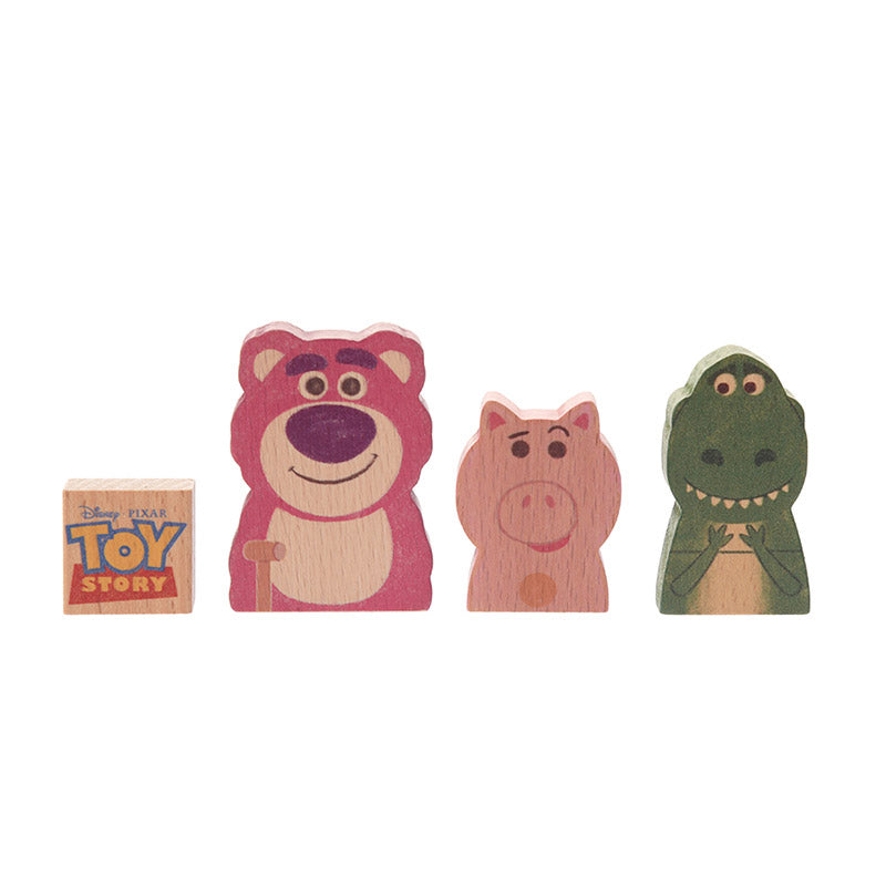 Toy Story KIDEA Toy Wooden Blocks BALANCE GAME Disney Store Japan