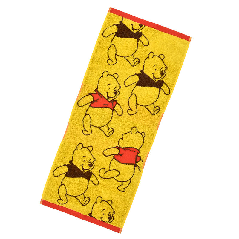 Winnie the Pooh Face Towel Color Disney Store Japan
