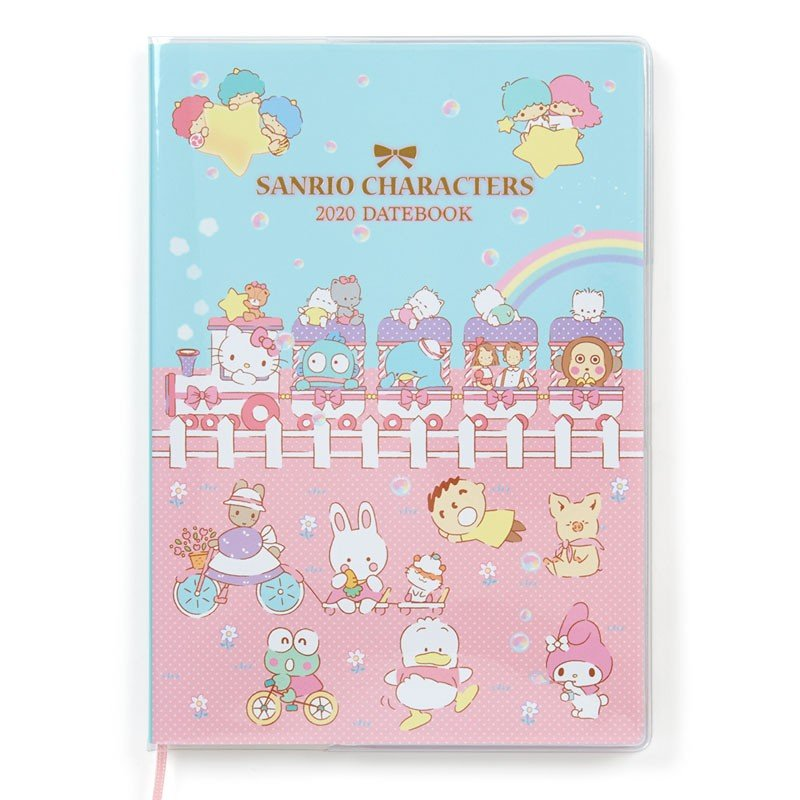 2020 Schedule Book Monthly B6 Sanrio Characters Train Sanrio Japan