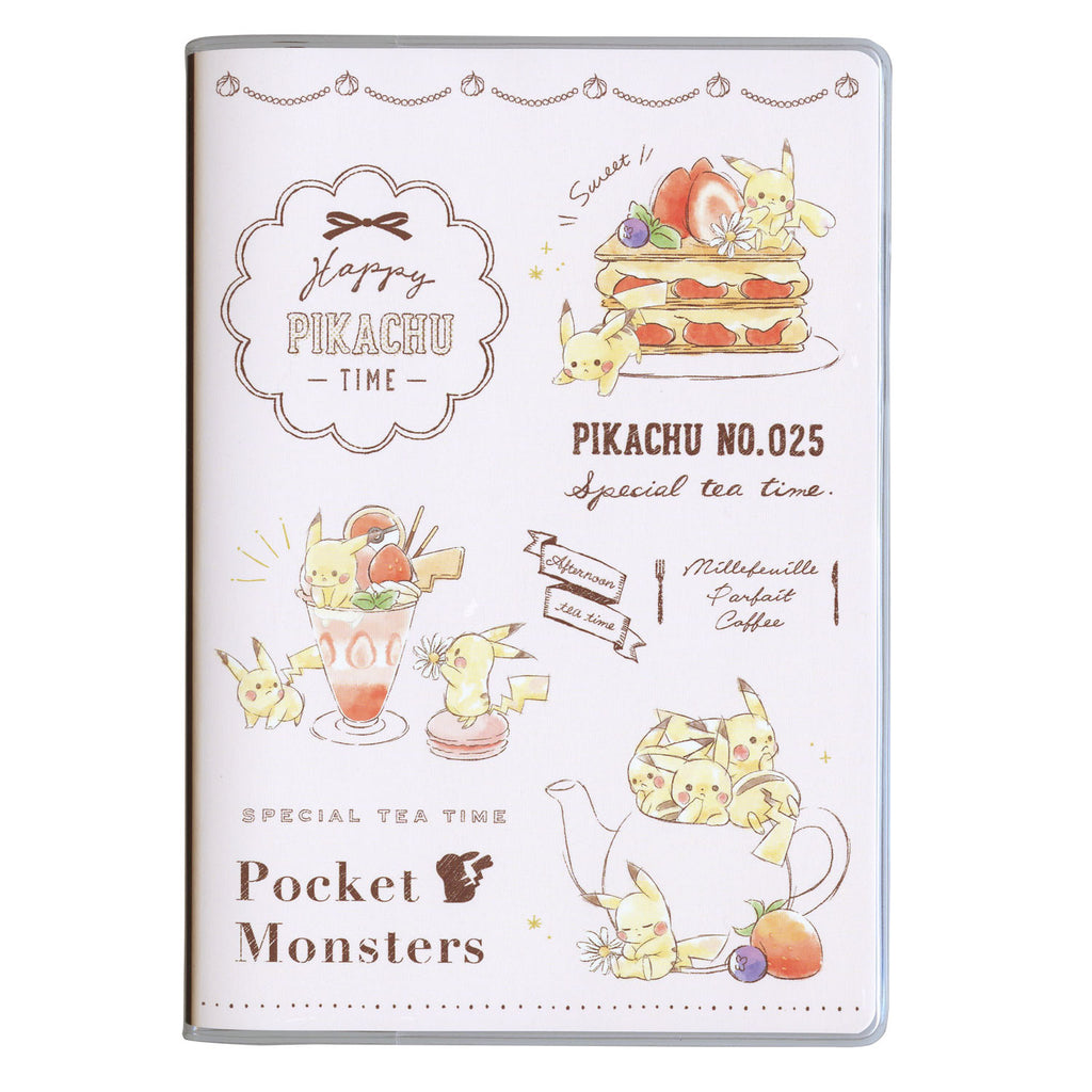 2020 Schedule Book B6 Monthly Sweets Pikachu number025 Pokemon Center Japan