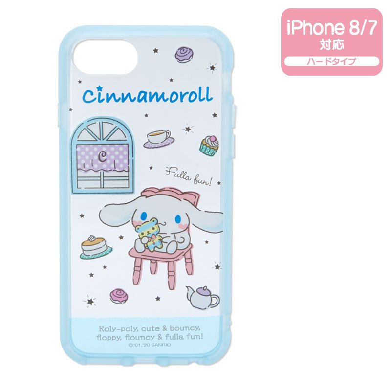 Cinnamoroll iPhone 7 8 Case Cover IIIIfi+ Clear Sanrio Japan