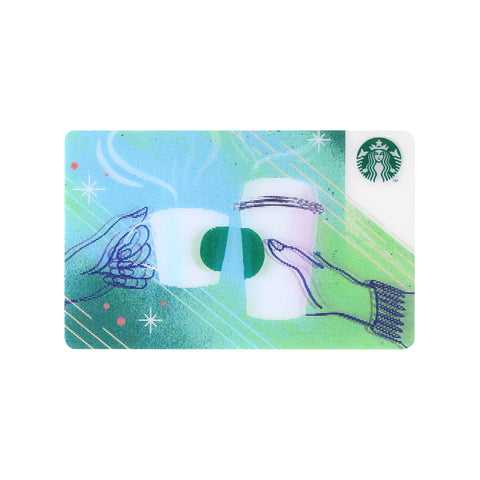 Starbucks Card Cheering Cups 2017 Starbucks Japan