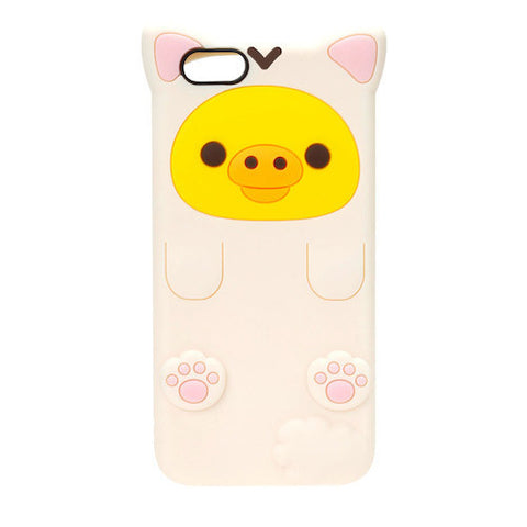 Kiiroitori Yellow Duck Cat iPhone 6s / 6 Silicon Case San-X Japan Rilakkuma