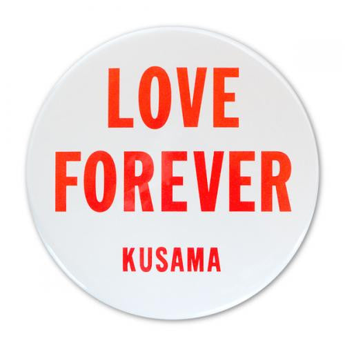 Yayoi Kusama LOVE FOREVER mini Mirror Japan Artist