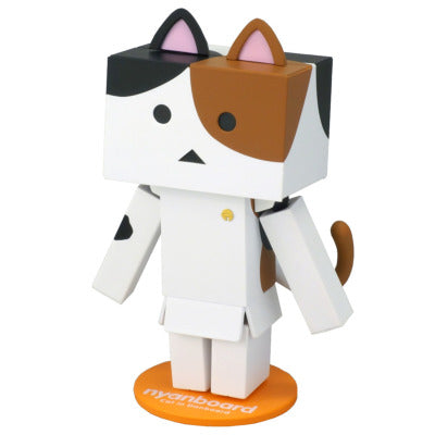 Danbo Figure mini Mike Tortoiseshell Cat Japan