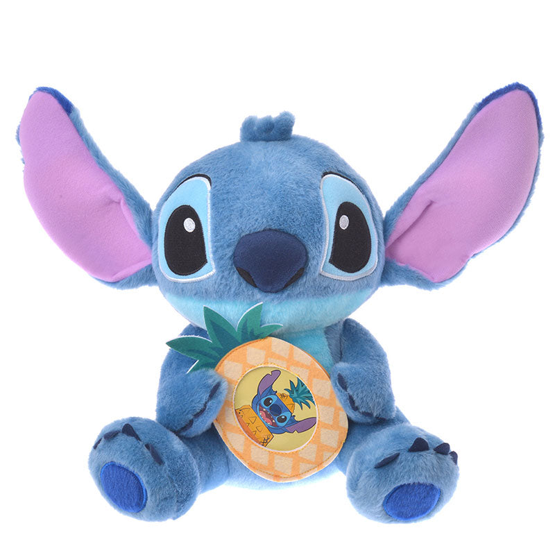 Stitch Plush Doll Photo Pocket Disney Store Japan