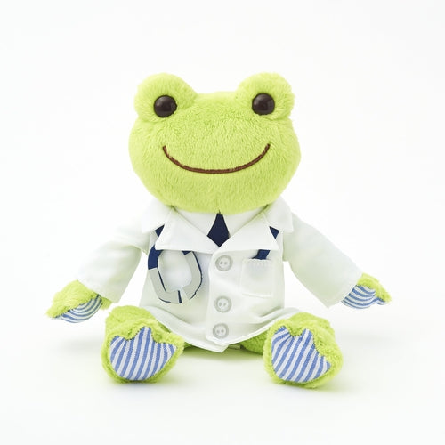 Pickles the Frog Bean Doll Plush Doctor Green Japan