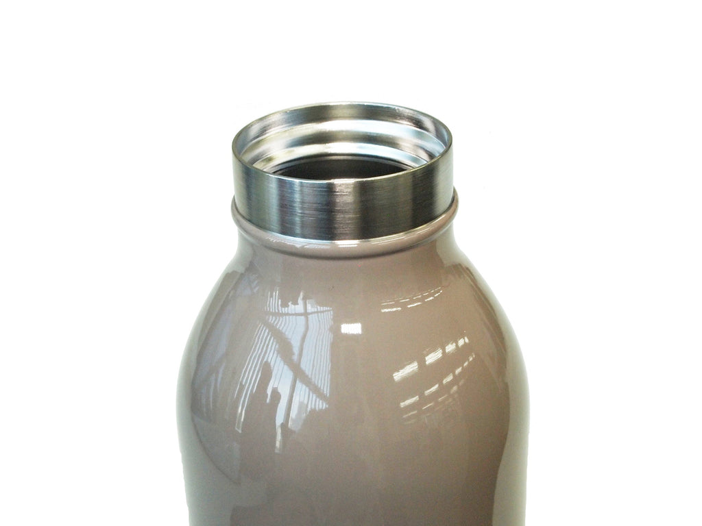 Water Bottle Vacuum Insulation Screw Mug Tumbler 0.35L Brown mosh! Japan
