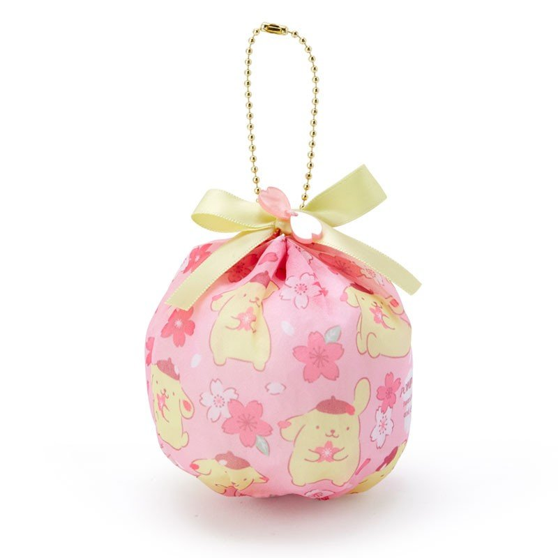 Pom Pom Purin mini Ball Round Pouch Sakura Sanrio Japan 2020