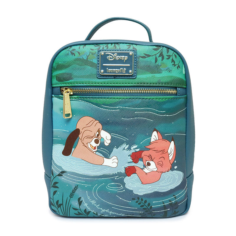 The Fox and the Hound Todd & Copper mini Backpack Loungefly Disney Store Japan