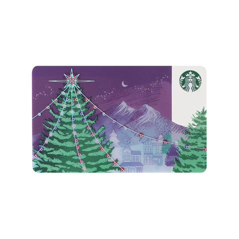 Starbucks Card Christmas 2017 Tree Starbucks Japan