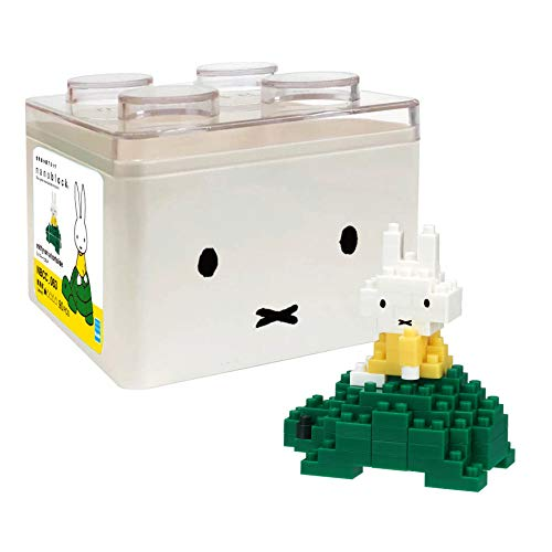 Miffy &Turtle Block Building Toy nanoblock NBCC 063 Japan
