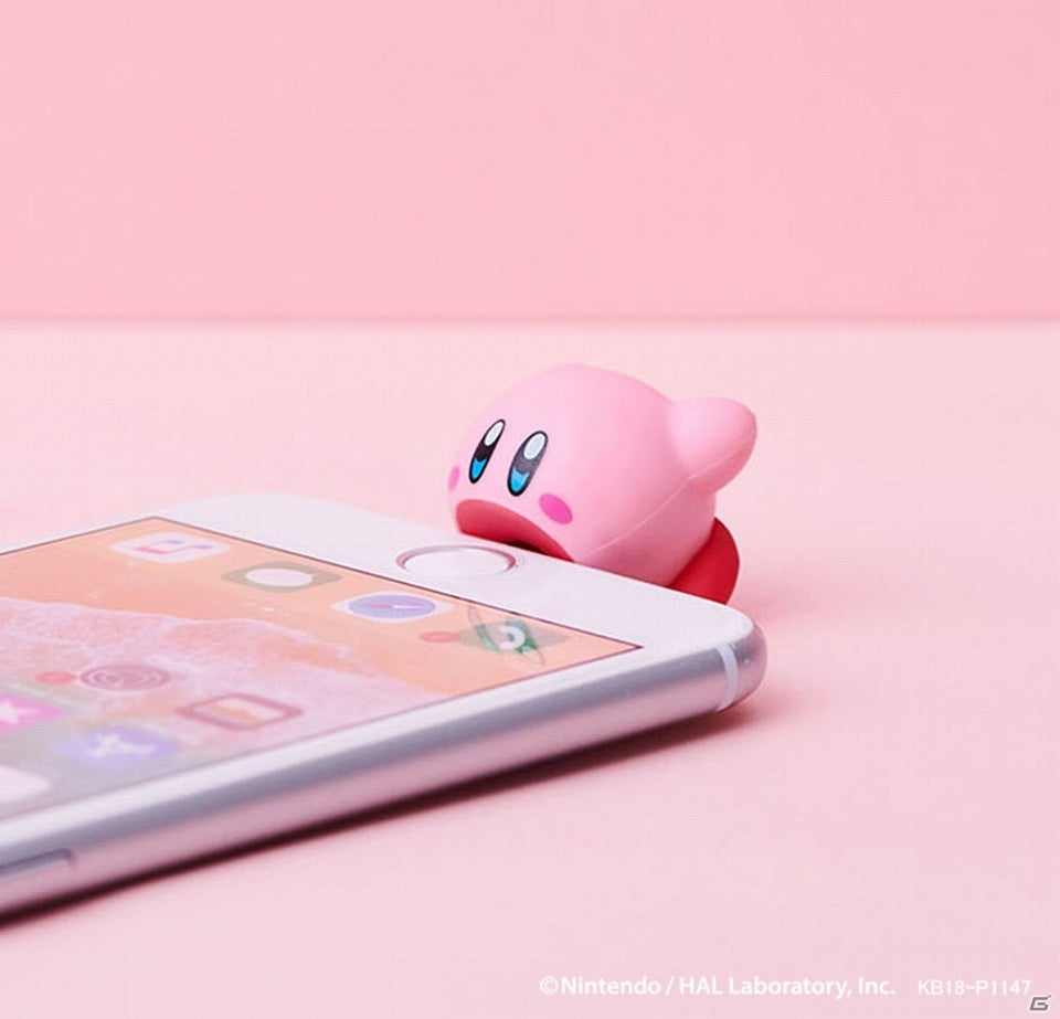 Kirby Suction CABLE BITE Protection for iPhone Mobile Accessory Japan