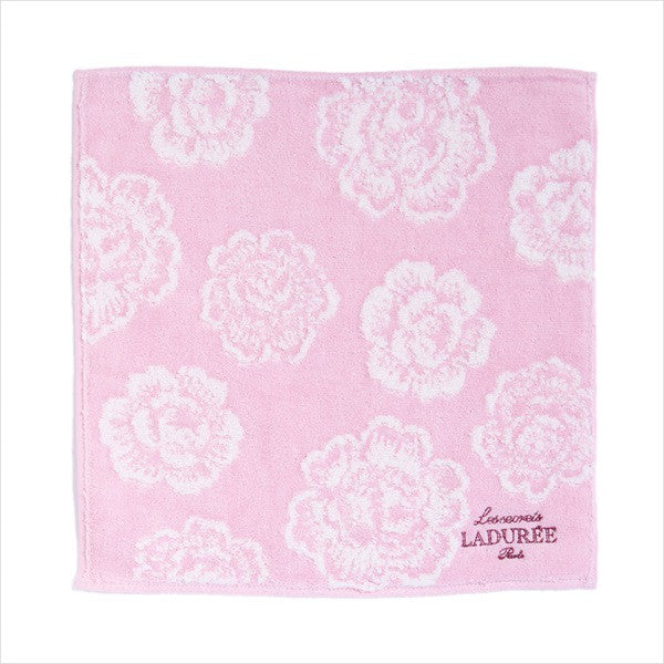 mini Towel Rose Pink Laduree Japan