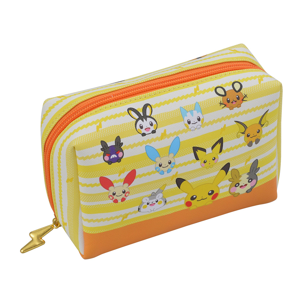 Pikachu Square Pouch HOPPE DAISHUGO Pokemon Center Japan Original