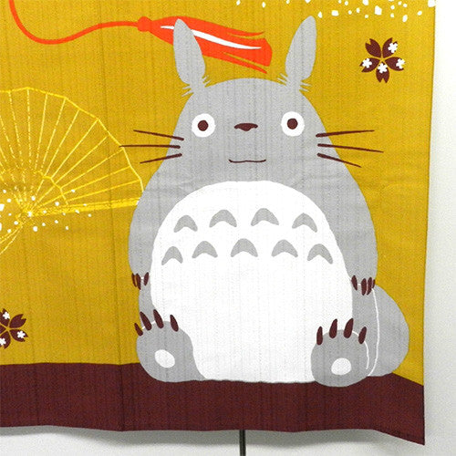 My Neighbor Totoro Japanese Doorway Curtain Noren Good Luck Hammer Ghibli Japan