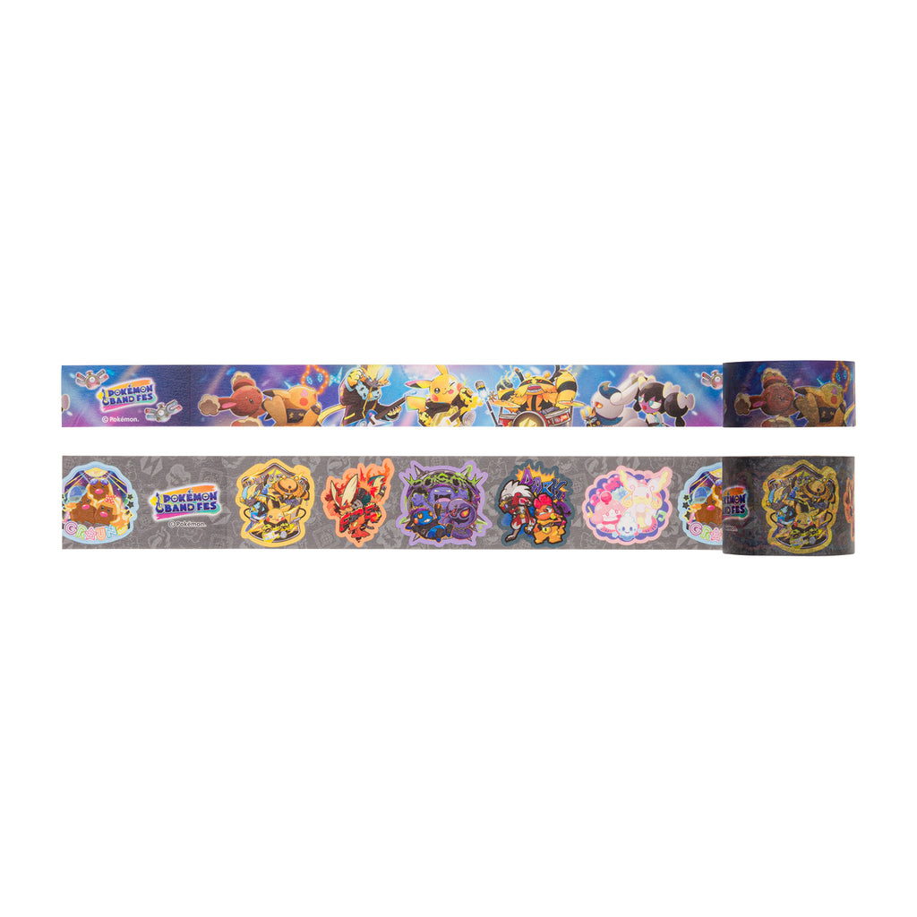 Masking Tape Set Band Festival Pokemon Center Japan Original