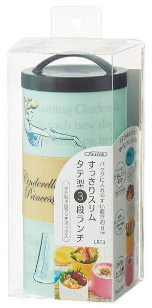Cinderella Bottle Type Lunch Box Bento 480ml LRT3 Disney SKATER Japan