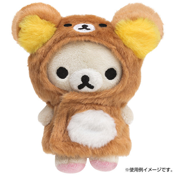 Rilakkuma Costume for Plush Doll Poncho San-X Japan