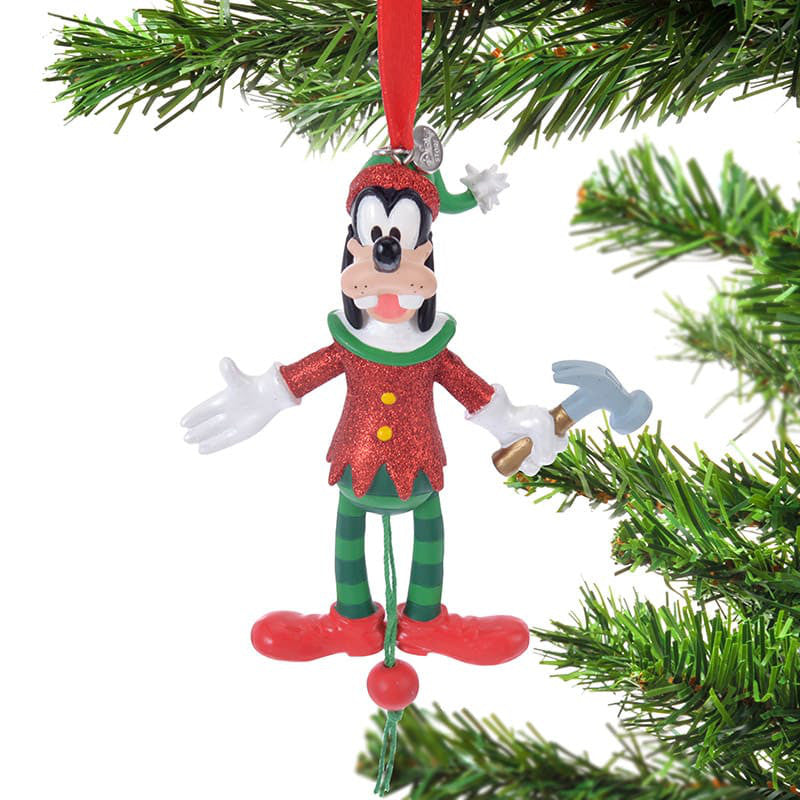 Goofy Christmas Tree Ornament Move Disney Store Japan 2018