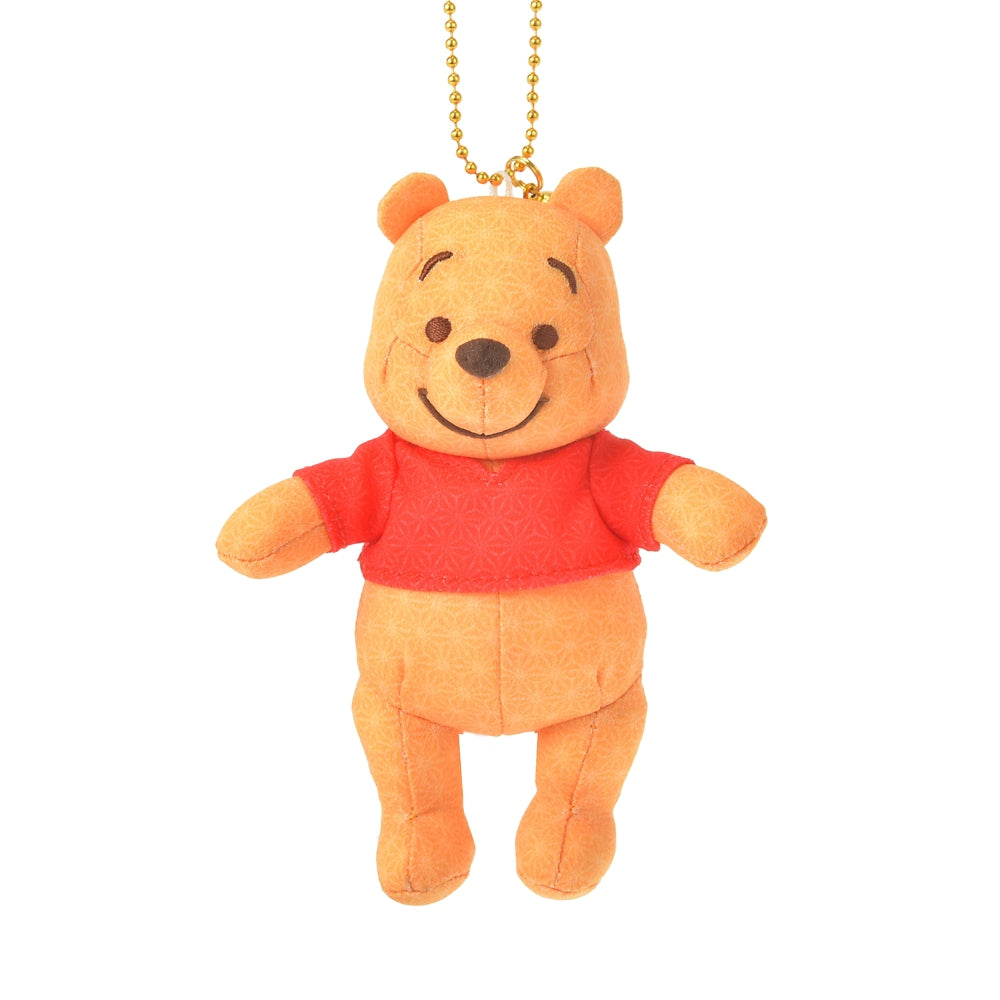 Winnie the Pooh Plush Keychain Japan Culture Disney Store