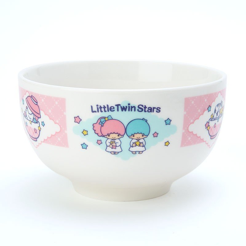 Little Twin Stars Kiki Lala Big Bowl Donburi Sanrio Japan