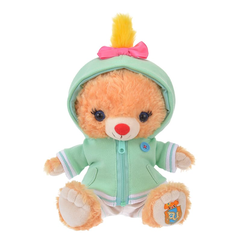 UniBEARsity Costume for Plush Doll Scrump Hooded Disney Store Japan