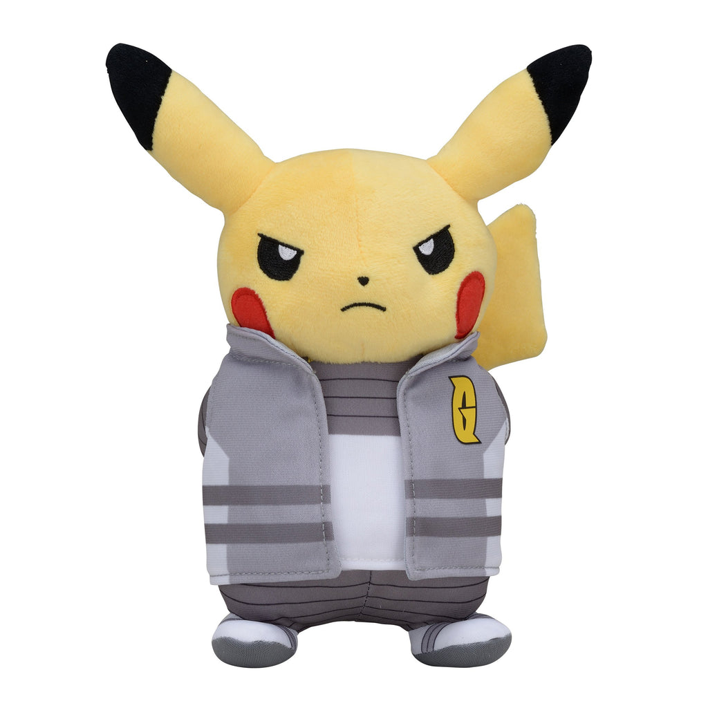 Pikachu G RR Plush Doll Boss Pretend Japan Pokemon Center Original