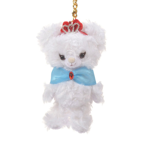 UniBEARsity Apfel Rose Snow White Plush Key Chain Disney Store Japan