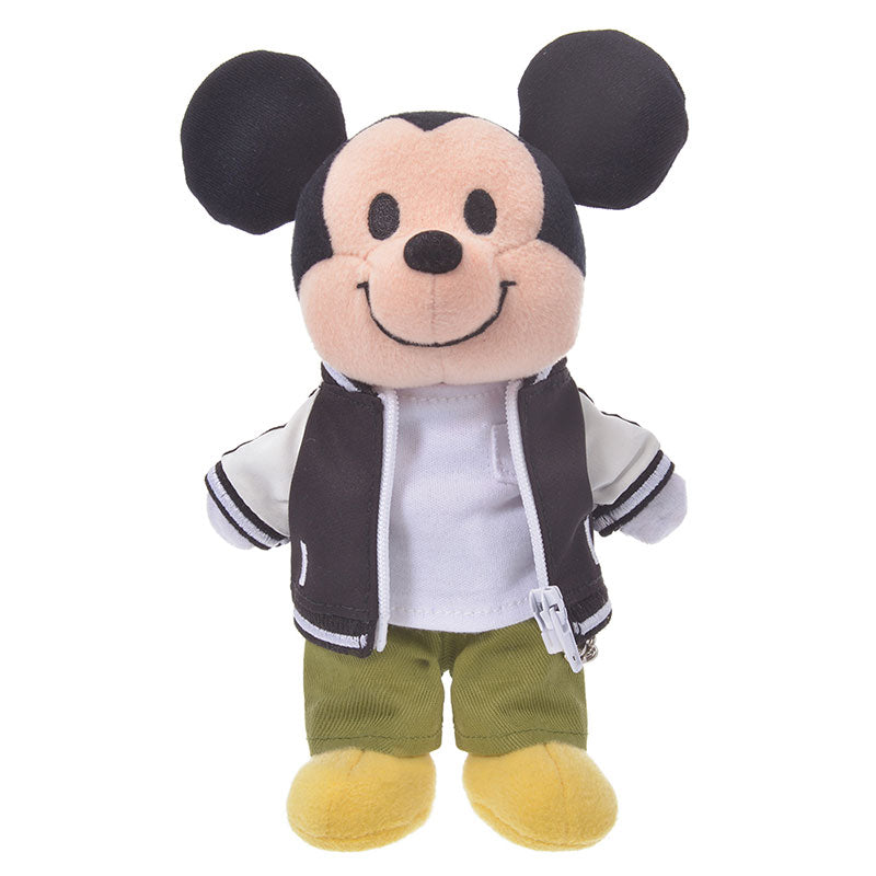 Costume for Plush nuiMOs Doll Varsity Jacket Monotone Boy Disney Store Japan