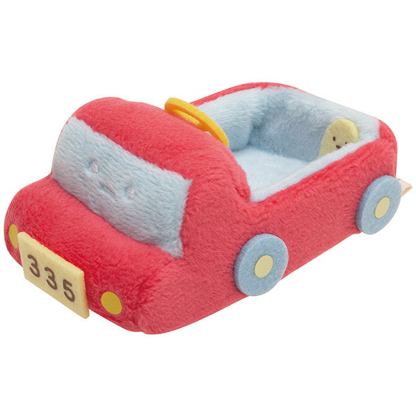 Sumikko Gurashi mini Tenori Plush Doll Outing Leisure Car San-X Japan
