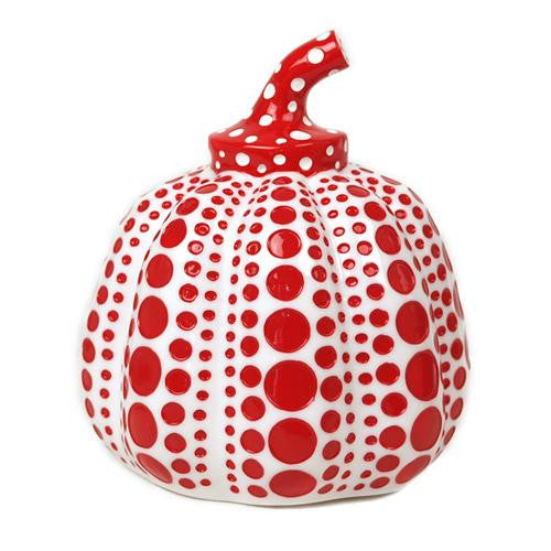 Yayoi Kusama Sculpture Object Pumpkin Red w/ box Japan Artist