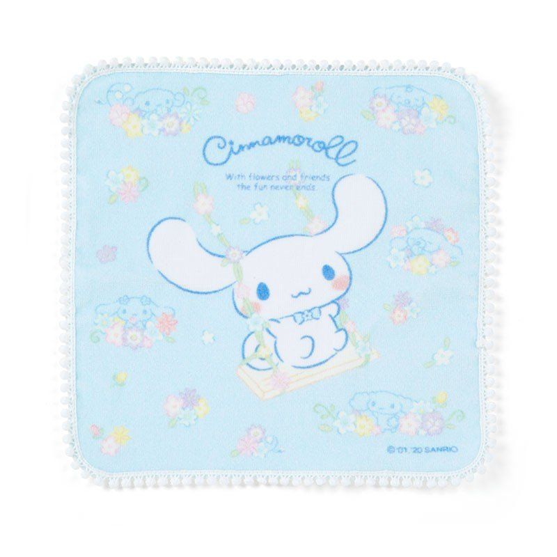 Cinnamoroll mini Towel Flower Sanrio Japan
