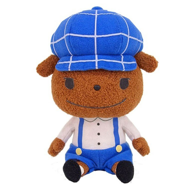 Brown Plush Doll S Oshiritantei Butt Detective Japan