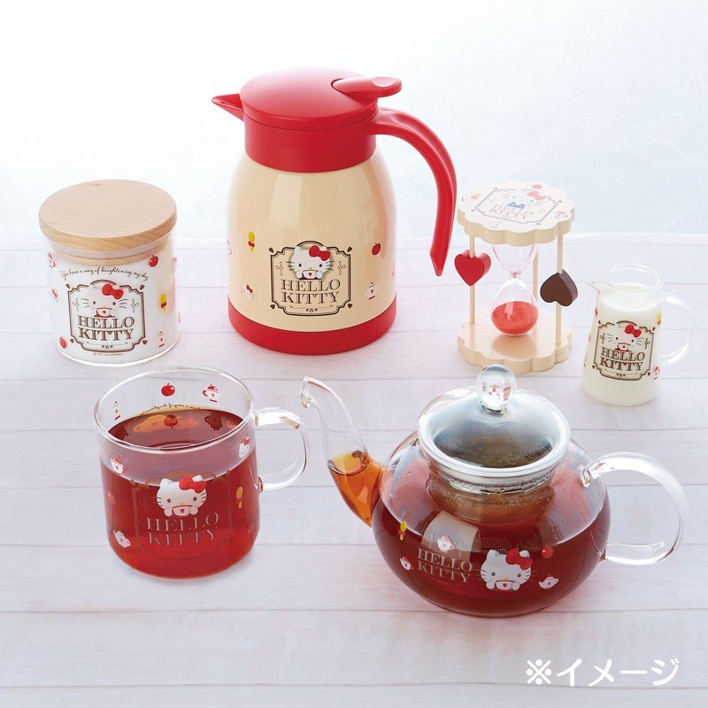 Hello Kitty Hourglass Winter Tea Time Sanrio Japan